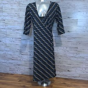Cassis wrap style dress